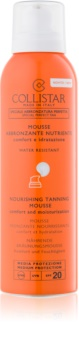 Collistar Sun Protection Sunscreen Face and Body Mousse SPF 20