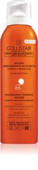 Collistar Special Perfect Tan Nourishing Tanning Mousse Solcreme og ansigts- og kropsmousse SPF 20