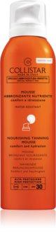Collistar Special Perfect Tan Nourishing Tanning Mousse пяна за загар за лице и шия SPF 30