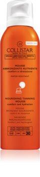 Collistar Special Perfect Tan Nourishing Tanning Mousse opalovací pěna na obličej a tělo SPF 30