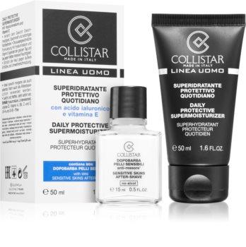 Collistar Daily Protective Supermoisturizer kosmetická sada V. pro muže