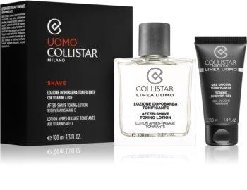 Collistar After-Shave Toning Lotion kosmetická sada III. pro muže