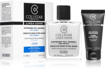 Collistar Sensitive Skins After-Shave kozmetika szett I. uraknak