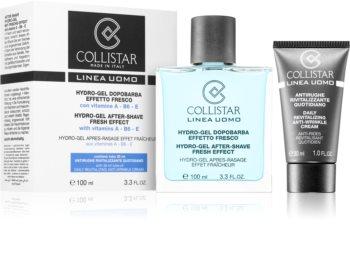 Collistar Hydro-Gel After-Shave Fresh Effect After Shave Gel + feuchtigkeitsspendende Tagescreme für alle Hauttypen