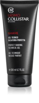 Collistar Perfect Shaving Technical Gel borotválkozási gél