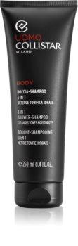Collistar 3 in 1 Shower-Shampoo Express гель для душу для тіла та волосся