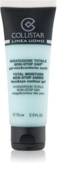Collistar Total Moisture Non-Stop 24hrs hidratantni gel s osvježavajućim učinkom za lice i područje oko očiju