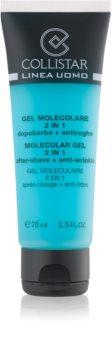 Collistar Molecular Gel 2 in 1 gel za britje + dnevna vlažilna krema proti gubam