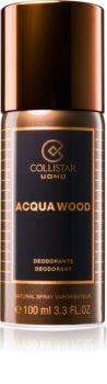 Collistar Acqua Wood deodorant spray pentru bărbați