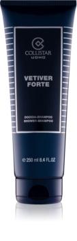 Collistar Vetiver Forte gel de duș pentru bărbați