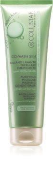 Collistar Special Perfect Hair 2-In-1 Co-Wash Purifying Micellar Washing Conditioner mizellen Reinigungsconditioner für fettiges Haar