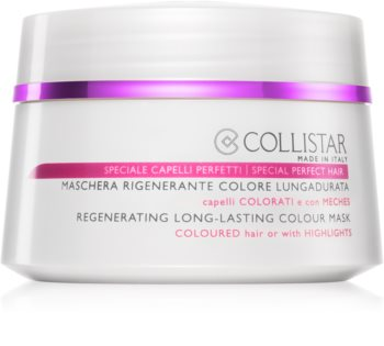 Collistar Special Perfect Hair Regenerating Long-Lasting Colour Mask maseczka  do włosów farbowanych
