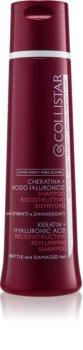 Collistar Special Perfect Hair Keratin+Hyaluronic Acid Shampoo șampon pentru regenerarea părului slab și deteriorat