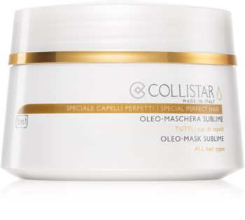 Collistar Special Perfect Hair Oleo-Mask Sublime maseczka z olejkiem do wszystkich rodzajów włosów