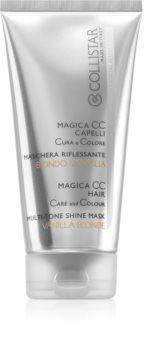 Collistar Special Perfect Hair Magica CC Hair odżywcza maseczka tonująca do włosów w odcieniu jasny blond, z pasemkami oraz siwych