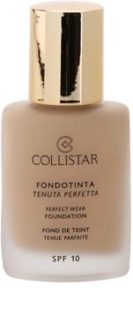 Collistar Foundation Perfect Wear voděodolný tekutý make-up SPF 10