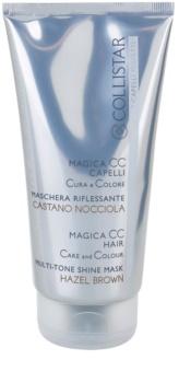 Collistar Magica CC tápláló tonizáló maszk a világosbarna és sötétszőke hajra