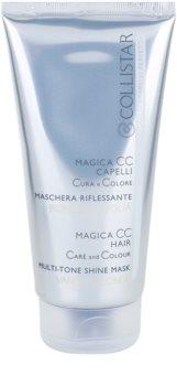 Collistar Magica CC hranjiva maska za toniranje za izrazito plavu kosu, kosu s pramenovima i bijelu kosu