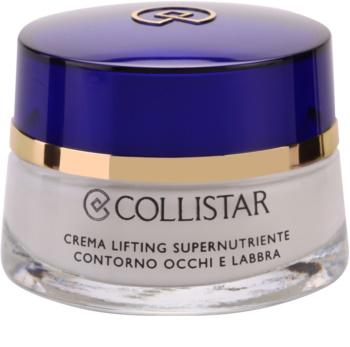 Collistar Special Anti-Age Eye Contour and Lips Supernourishnig Lifting Cream vyživující liftingový krém na oční okolí a rty