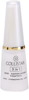 Collistar Nails Base δυναμωτικό βερνίκι νυχιών 3 σε 1