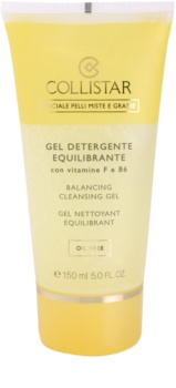 Collistar Special Combination And Oily Skins Cleansing Gel gel de curățare cu vitamina F si B6