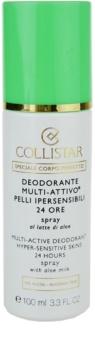 Collistar Special Perfect Body spray dezodor az érzékeny bőrre
