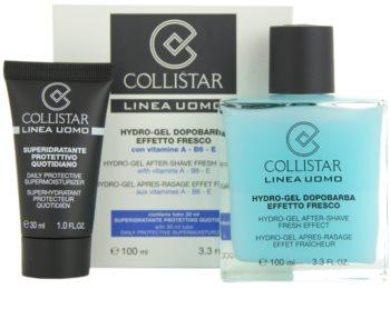 Collistar Man gél po holení + denný hydratačný krém pre všetky typy pleti