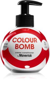 Colour Bomb by Maverick Fire Red vymývající se barva na vlasy