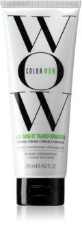 Color WOW One-Minute Transformation glättende Creme für unnachgiebige und strapaziertes Haar