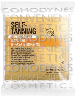 Comodynes Self-Tanning toalhete de autobronzeamento 8 pçs