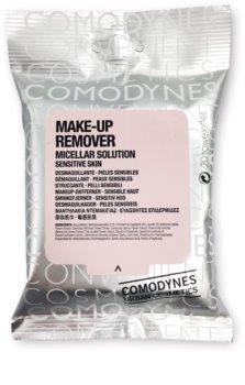Comodynes Make-up Remover Micellar Solution sminklemosó kendő az érzékeny arcbőrre