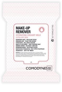 Comodynes Make-up Remover Creamy Milk Renseservietter Til meget tør hud