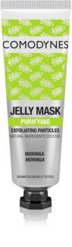 Comodynes Jelly Mask Exfoliating Particles masque gel pour un nettoyage parfait du visage