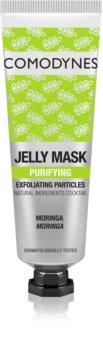 Comodynes Jelly Mask Exfoliating Particles zselés arcmaszk a bőr tökéletes tisztításához