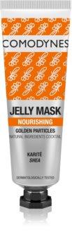 Comodynes Jelly Mask Golden Particles odżywcza maska żelowa