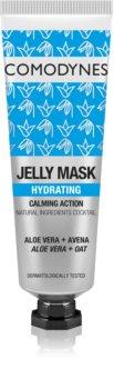 Comodynes Jelly Mask Calming Action hidratáló gél maszk