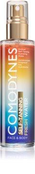 Comodynes Self-Tanning Fresh Water espuma bronzeadora para corpo e rosto