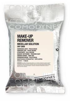 Comodynes Make-up Remover Micellar Solution toalhitas desmaquilhantes para pele seca
