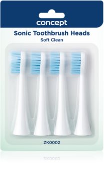 Concept Perfect Smile Soft Clean Replacement Heads For Toothbrush