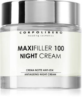 Corpolibero Maxfiller 100 Night Cream crema de noapte care catifeleaza