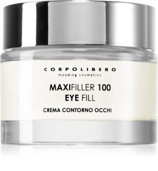 Corpolibero Maxfiller 100 Eyefill krema proti gubam za predel okoli oči za redukcijo oteklin in temnih kolobarjev