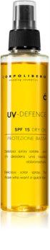 Corpolibero UV-Defence Dry Oil óleo protetor ativador do bronzeado SPF 15