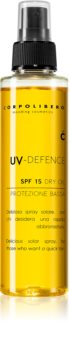 Corpolibero UV-Defence Dry Oil zaščitno olje za podporo porjavelosti  SPF 15