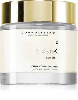 Corpolibero Elastik Bust Lift лифтинг-крем для области шеи и декольте