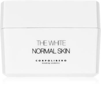 Corpolibero The White Normal Skin cremă hidratantă pentru curățare pentru piele normala