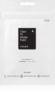 Cosrx Clear Fit Master Reinigend Pleister voor Problematische Huid