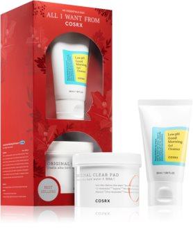 Cosrx Good Morning zestaw kosmetyków dla czystej i ukojonej skóry