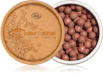Couleur Caramel Enhancing Pearls rozjasňujúci púder v guličkách