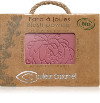 Couleur Caramel Blush Powder kompaktná lícenka