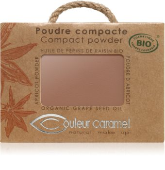 Couleur Caramel Compact Powder puder w kompakcie